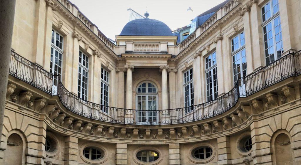 Hôtel de Beauvais - classé au titre des monuments historiques en 1966