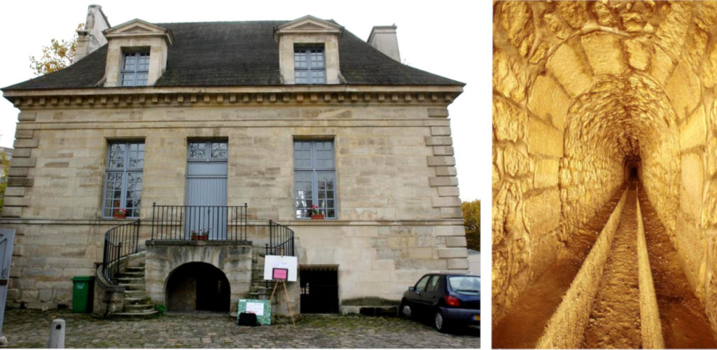 Maison du Fontainier et Aqueduc Médicis, restaurés par l'association