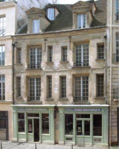 Maison d'ourscamp Paris historique
