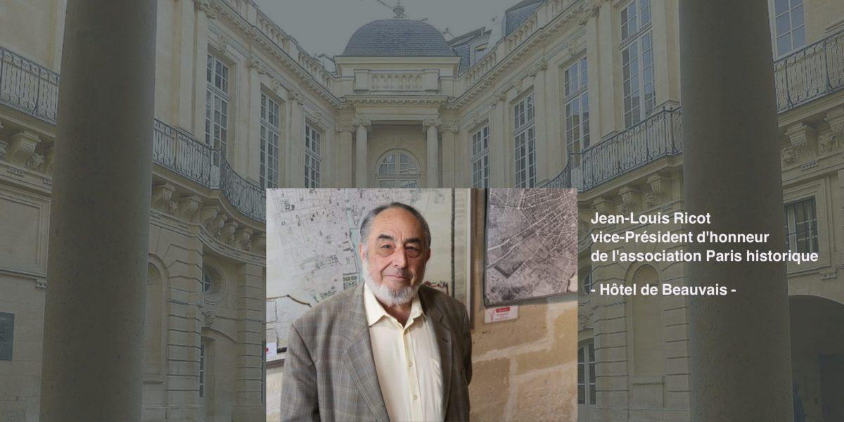 Jean-Louis Ricot Paris historique